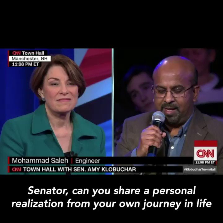 """WATCH: Amy talks about """"that opportunity that is America."""""""