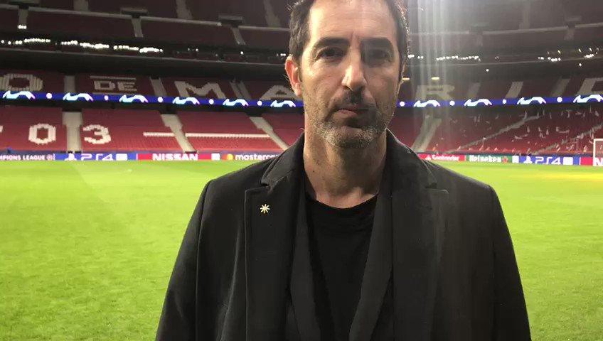 ⚽  La grande Champions League sulla #Rai  📌Domani c'è #AtleticoMadridJuventus, dalle 20:30 su @RaiUno 🔊 Le ultime dal #WandaMetropolitano con @AleAntinelli  #AtletiJuve #UCL #RaiChampions