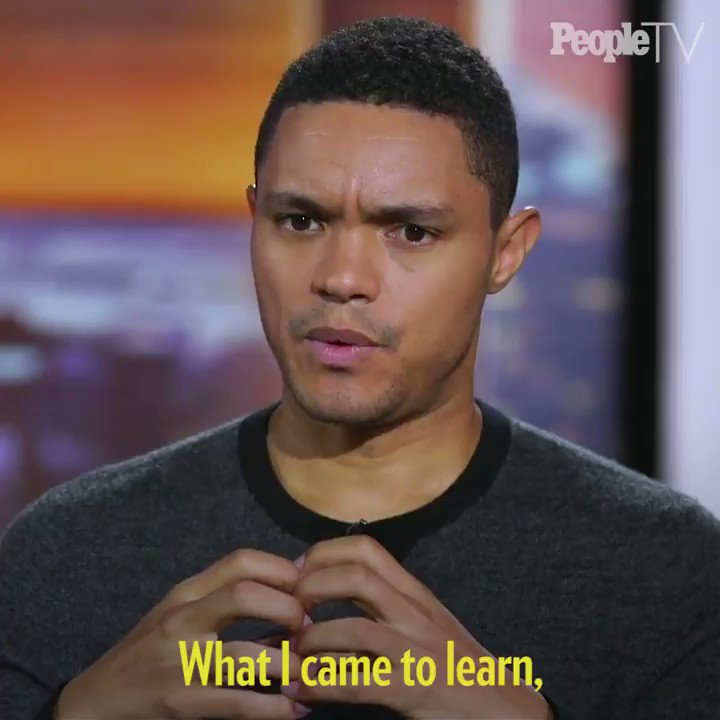 .@Trevornoah shares the advice #JonStewart gave him when he first started hosting @TheDailyShow and how he came to make the show his own. Watch more here: http://share.peopletv.com/Cq8uwid
