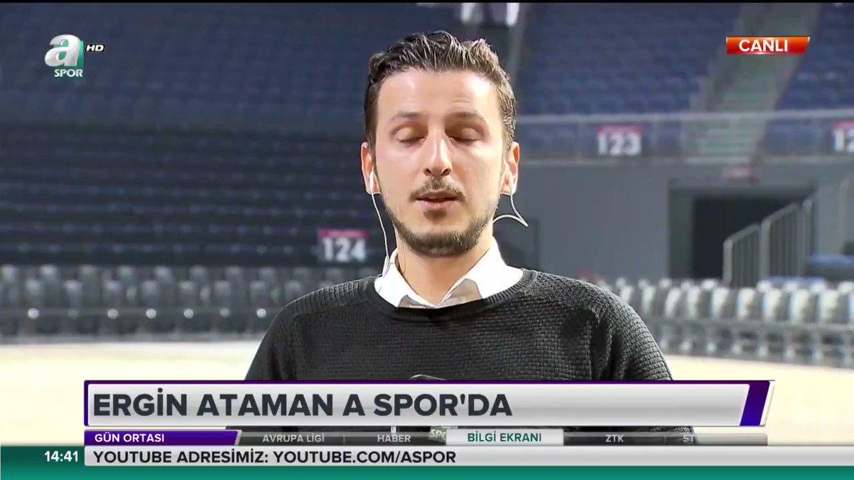 #ÖZELRÖPORTAJ Anadolu Efes Başantrenörü Ergin Ataman @erginataman -Play-Off'u garantilememiz için en az 3 maç daha kazanmalıyız -Olympiakos maçında seyirci avantajını en iyi şekilde kullanmamız gerekiyor. -Final Four'a kaldığımız takdirde tek hedefimiz #EuroLeague'de şampiyonluk