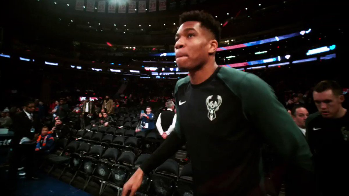 Not sure anyone in the league is having more fun than @Giannis_An34 - we sat down to discuss his team's potential, his love of reality TV and what he learned watching the Anthony Davis situation. Oh, and also, he makes his case for MVP...kind of.
