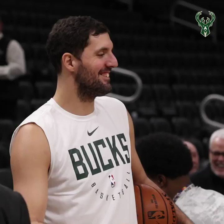 🔜@Threekola will make his Bucks debut tonight!!  #FearTheDeer