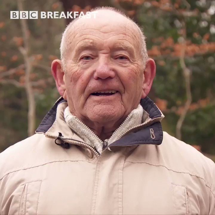 Tony Foulds... Legend 👏🏼❤️  Here's his story 👇🏼  #RememberTheTen #TonyGotAFlypast #BBCBreakfast