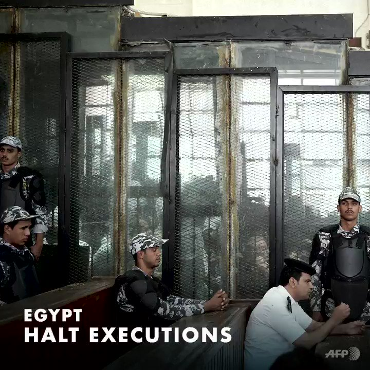 #Egypt: We are very concerned by the news that 15 people have been executed this month. We urge the authorities to #StopExecutionsinEgypt and to take all necessary measures to ensure that violations of due process and fair trial are not repeated.  ℹ️http://ow.ly/zAT730nNugc