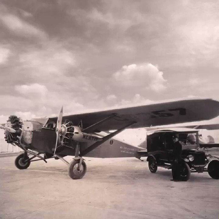 #DidYouKnow our first air delivery was in February of 1929? ✈️ We started out by booking space for packages in the holds of passenger flights of three different airlines. #avgeeks @UPSAirlines