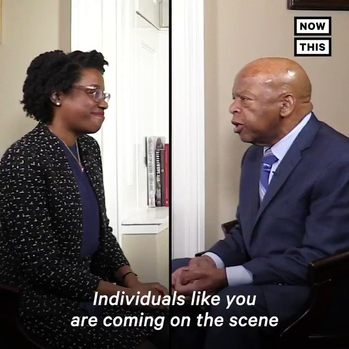 The youngest Black woman to ever serve in Congress, Rep, Lauren Underwood, and civil rights hero Rep. John Lewis sat down to learn from one another, and pass the torch of Black leadership. Happy 80th birthday Rep. Lewis!