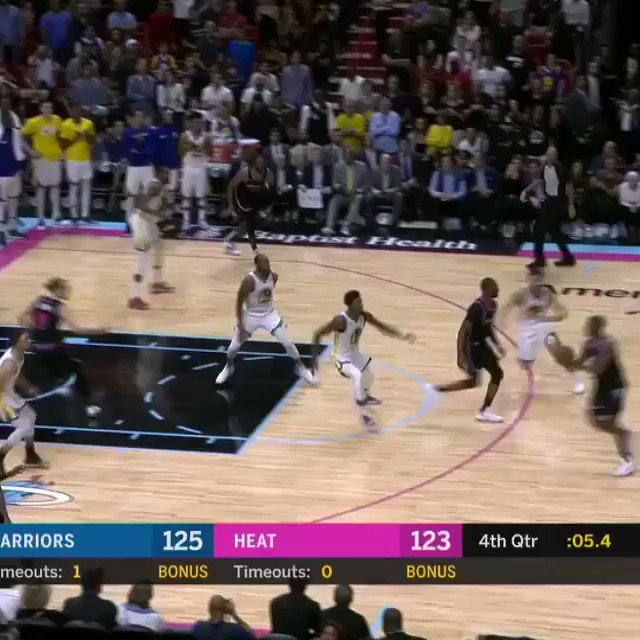 DWYANE WADE buries the #TissotBuzzerBeater for the @MiamiHEAT victory!   #ThisIsYourTime #OneLastDance