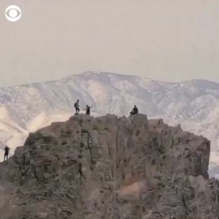 size 40 5cea8 8d2fa ON TOP OF THE WORLD  Climbers captured footage while at the top of an  Arizona mo