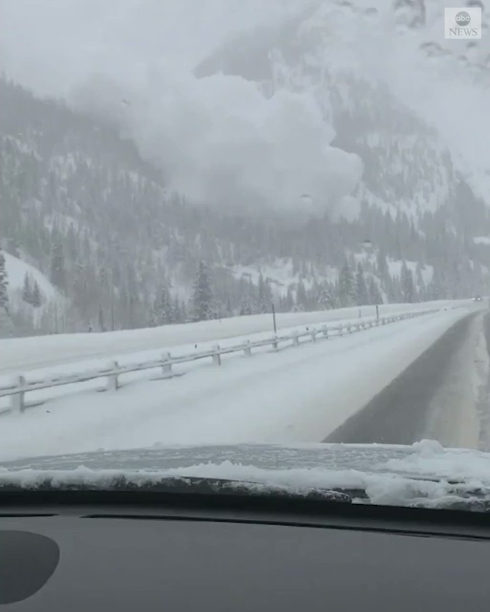 A couple of avalanches closed down parts of Interstate 70 in Colorado on Sunday. Luckily, authorities say, no one was trapped or injured. https://abcn.ws/2EFIPyj