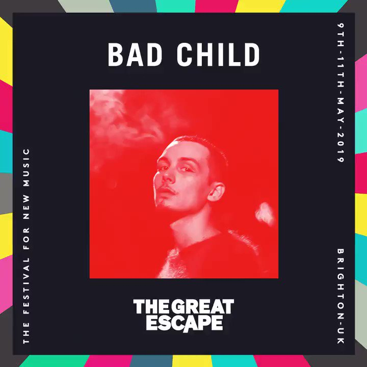 .@badchildsound is coming to @thegreatescape 🙌🇬🇧