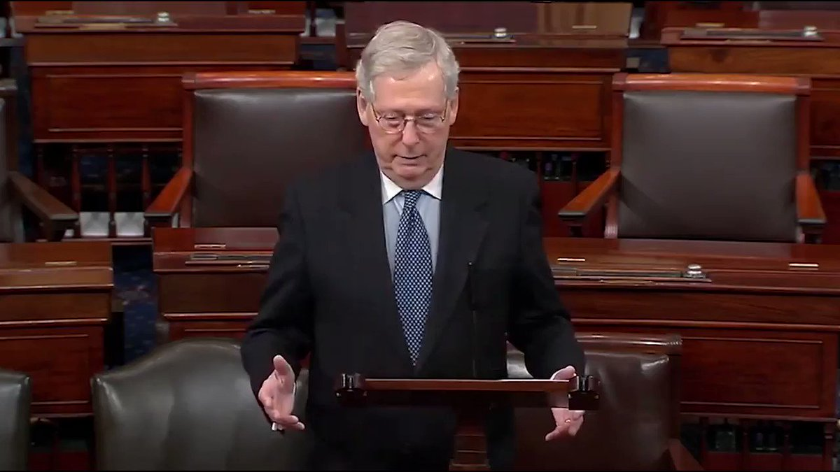 Democrats want taxpayers to pay for up to $5 million for political TV ads and robocalls. Americans hard-earned money should not be going to help candidates that they don't even support -- more from @senatemajldr from today's floor speech opposing H.R. 1: