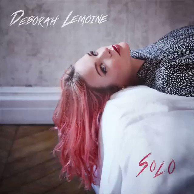 """Découvrez le premier single """"Solo"""" de @DeborahLemoine_ découverte dans #AuditionSecrète Pour l'écouter ➡ http://lnk.to/DeborahLemoine-Solo…"""