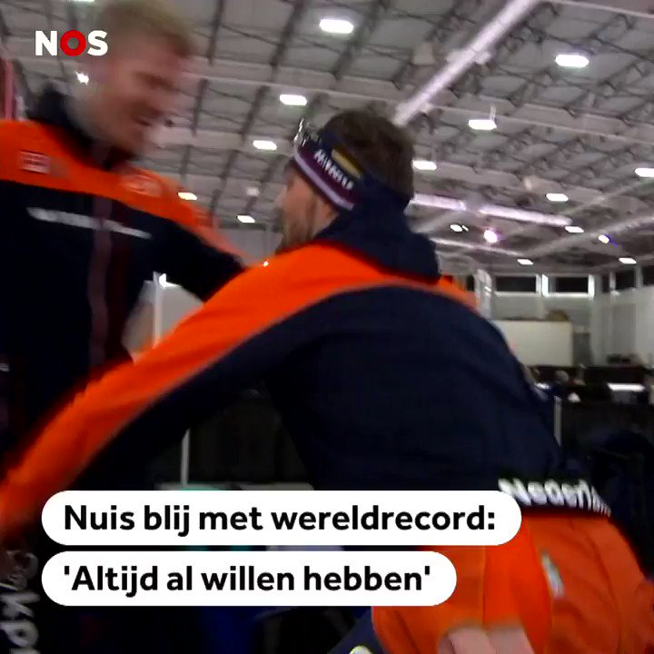 NOS Sport's photo on Kjeld Nuis