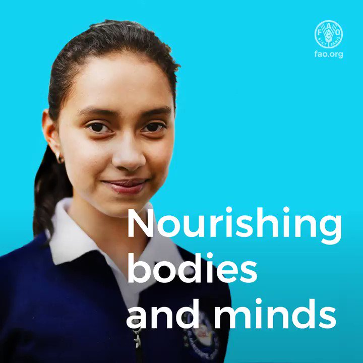 Today is International School Meals Day! 🥣📚🍏  In Guatemala, around 2.5 million children are now eating more nutritious food at school and learning about it too!   📽️Watch to learn how 👇  #ISMD2019 #schoolmeals #ZeroHunger