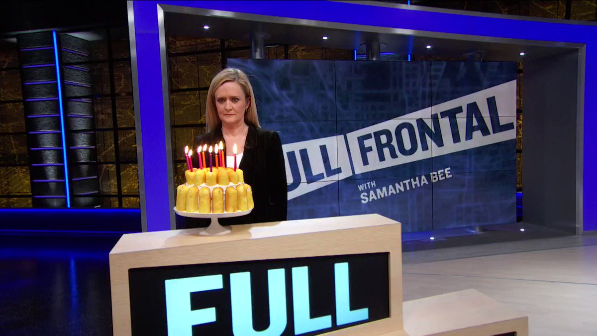 Hot diggity dog! There's a squeaky clean new episode of Full Frontal tonight! Zounds! That's delish!