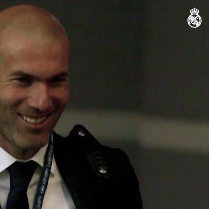 ¡Zidane dirigirá frente al @RCCelta su partido 150 con el @RealMadrid!  🚩 149 partidos ⚽ 393 goles 💪 104 victorias 🏆 9 trofeos #HalaMadrid