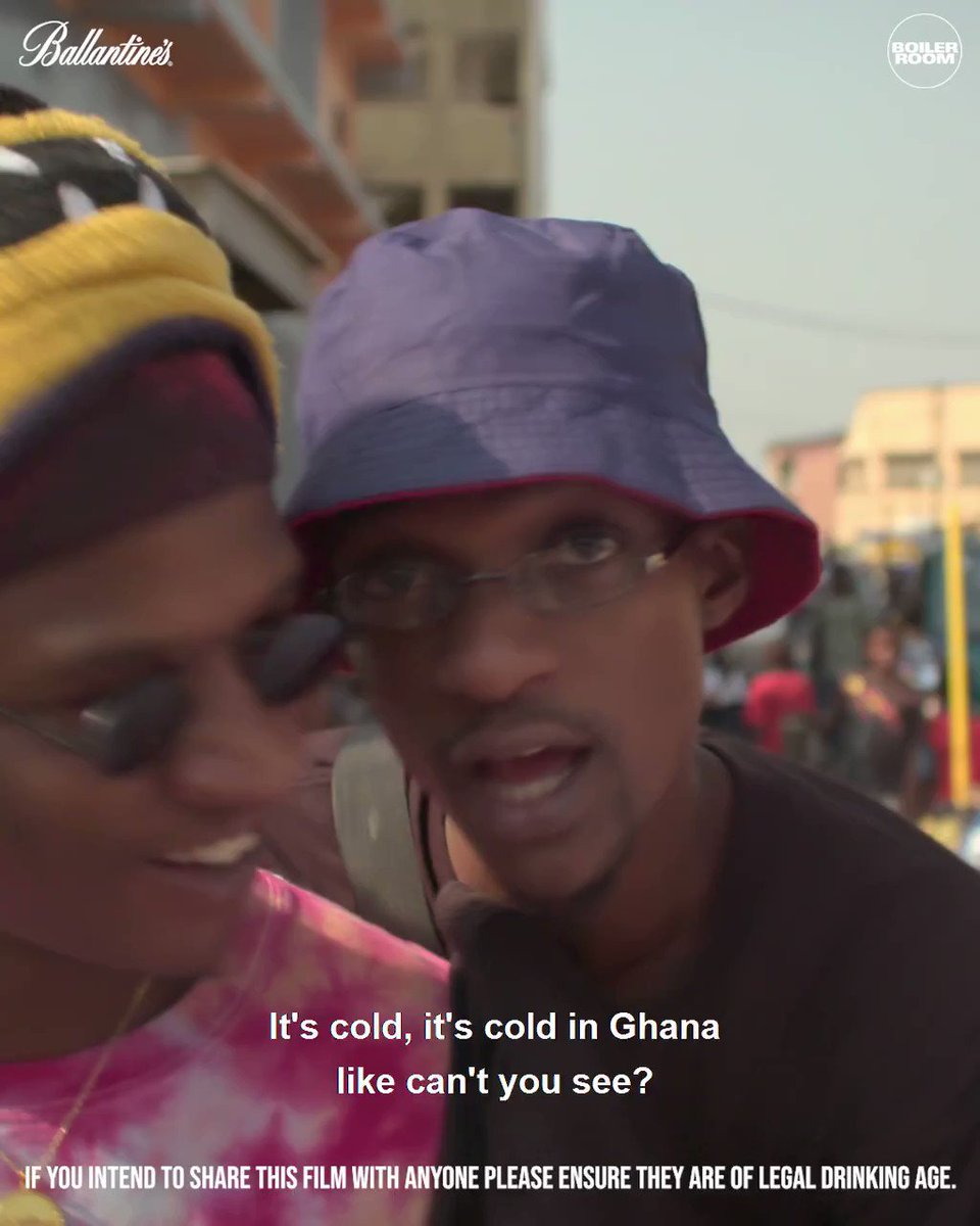 Our latest True Music Africa doc with @Ballantines follows Accra's new wave of music talent