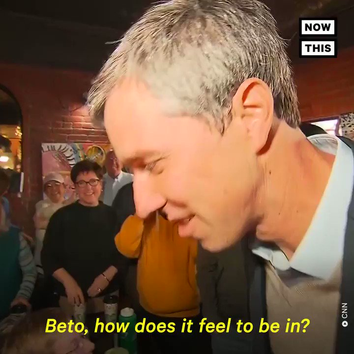 Watch @BetoORourke give his first stump speech at a campaign kick-off event in Iowa
