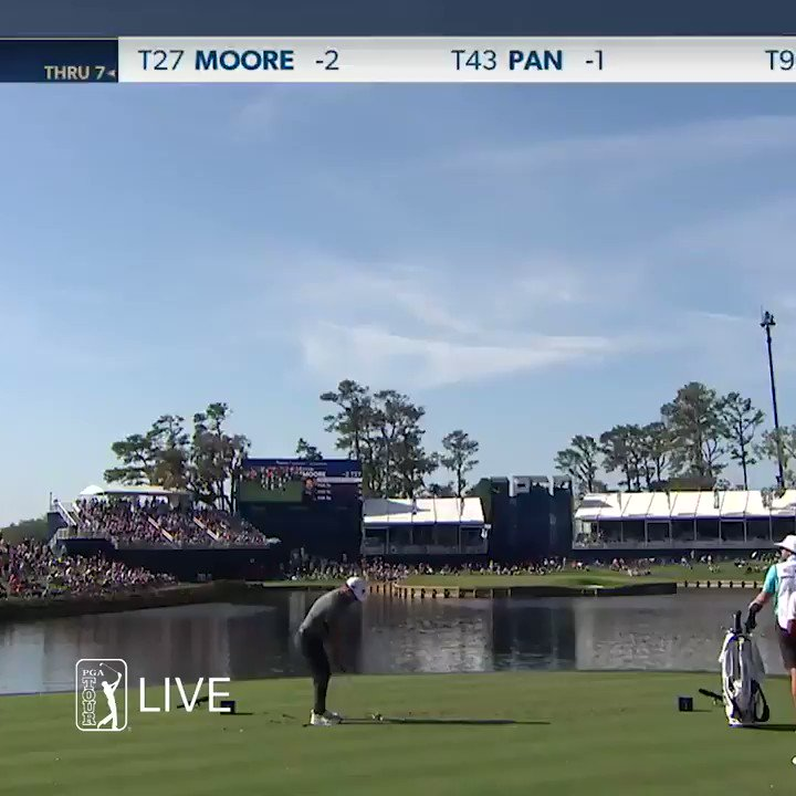�� HOLE-IN-ONE ��  SLAM DUNK FOR @RYANMOOREPGA!  Magic on the 17th hole @THEPLAYERSChamp.  #LiveUnderPar https://t.co/X5COEcQw03