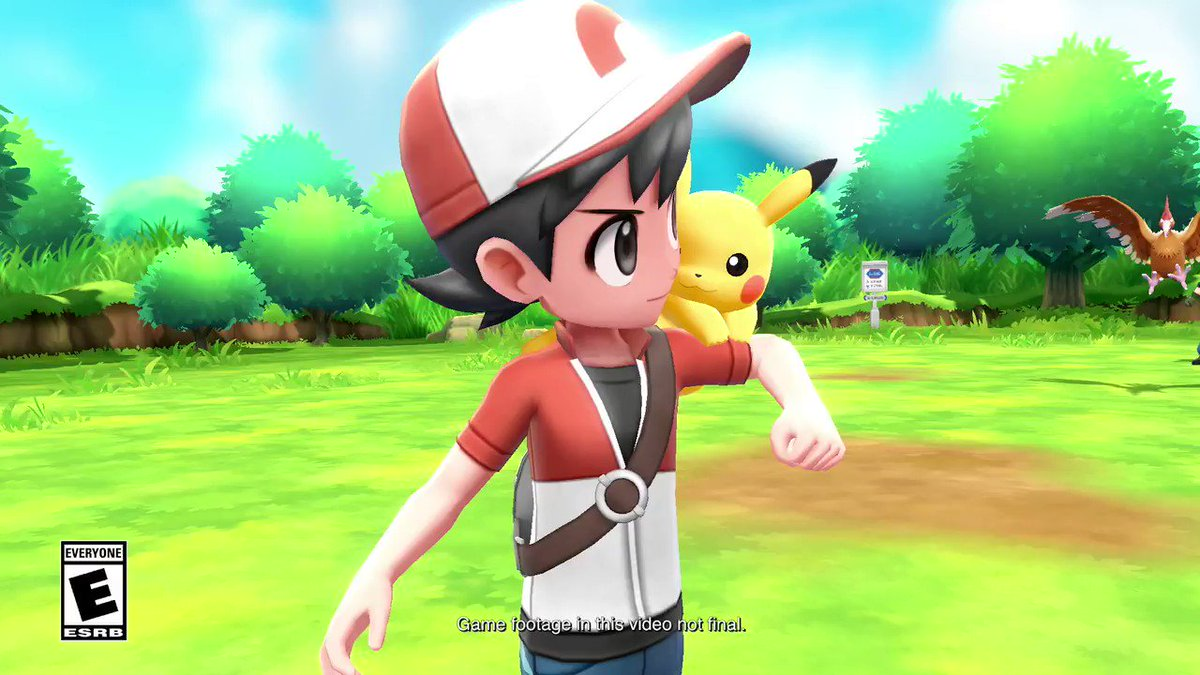 Are you #TeamPikachu? Tell your friends just how fun it is to have this little one by your side! Having a hard time deciding? Try the #PokemonLetsGo free demo for #NintendoSwitch, available now on Nintendo #eShop!  https://pokemonletsgo.pokemon.com/en-us/