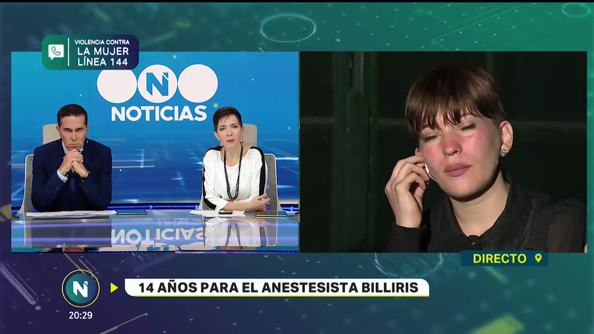 Telefe Noticias's photo on Billiris