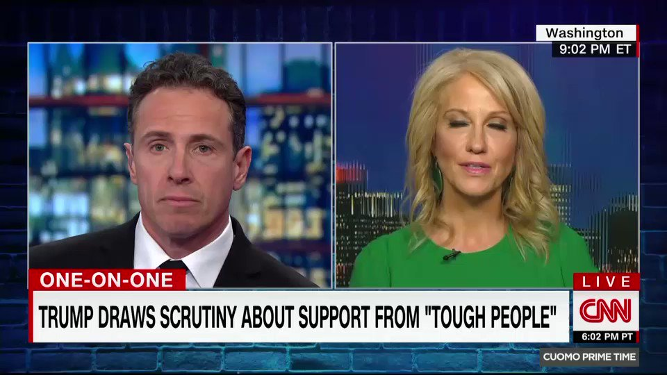 Cuomo Prime Time's photo on Kellyanne Conway