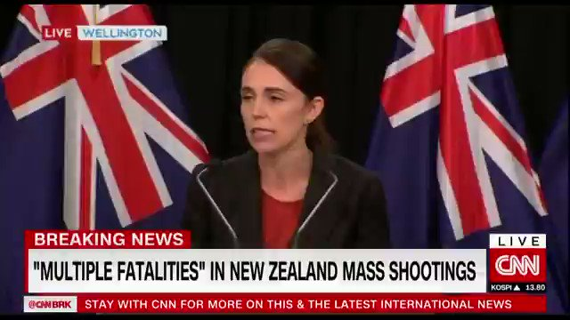 CNN International's photo on Prime Minister Jacinda Ardern