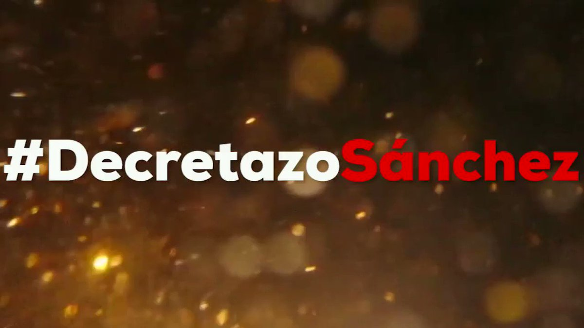 Partido Popular 🇪🇸's photo on #DecretazoSánchez
