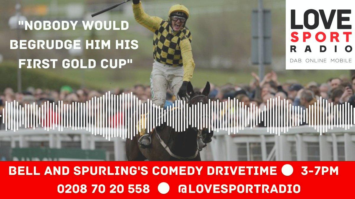 Love Sport Radio's photo on Willie Mullins