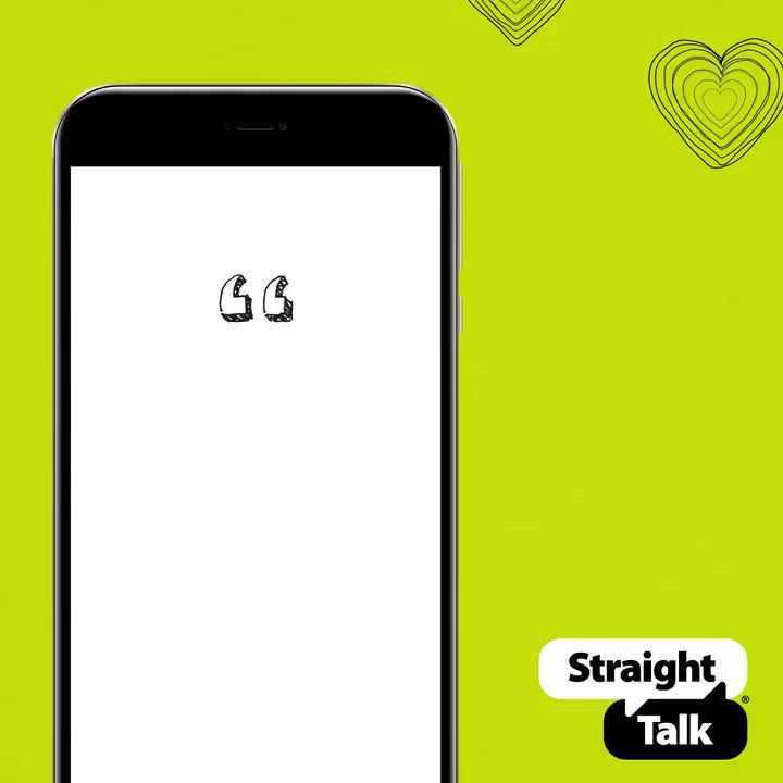 With unlimited wireless plans and no contracts or mystery fees, Straight Talk rocks. Reply and tell us your favorite thing about Straight Talk! https://str8.ly/2TaXsP4