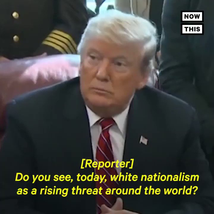NowThis's photo on White Nationalism