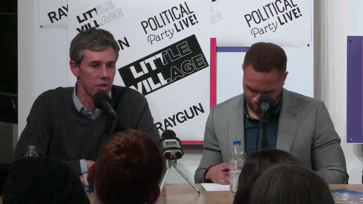 Democrat Beto O'Rourke says he supports banning semi-automatic firearms but says if you currently own one that you can keep it.