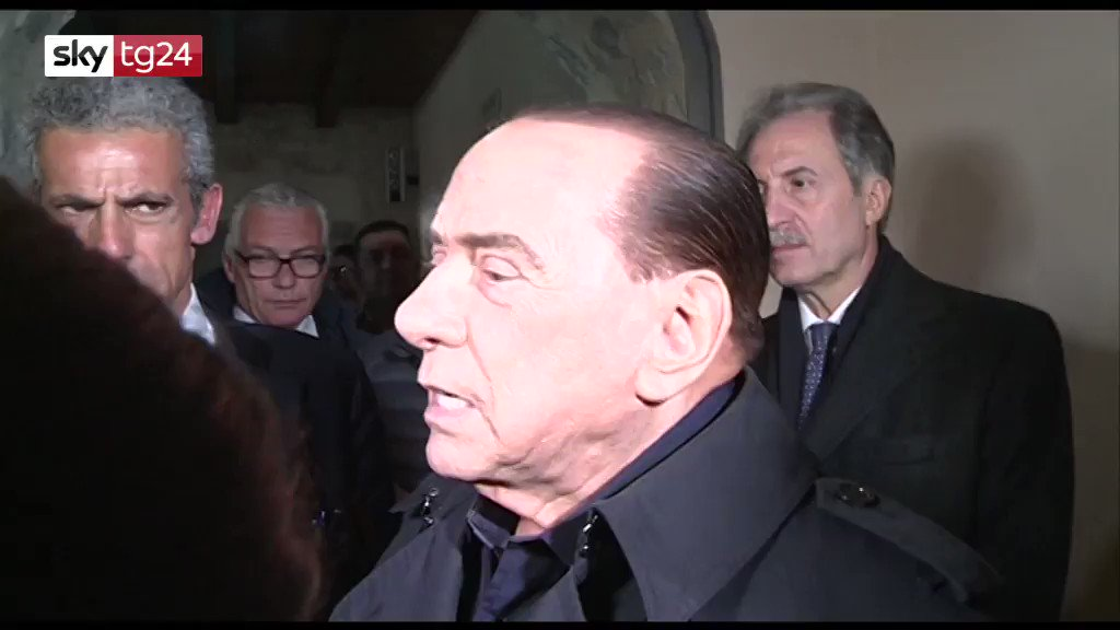Sky tg24's photo on Silvio Berlusconi
