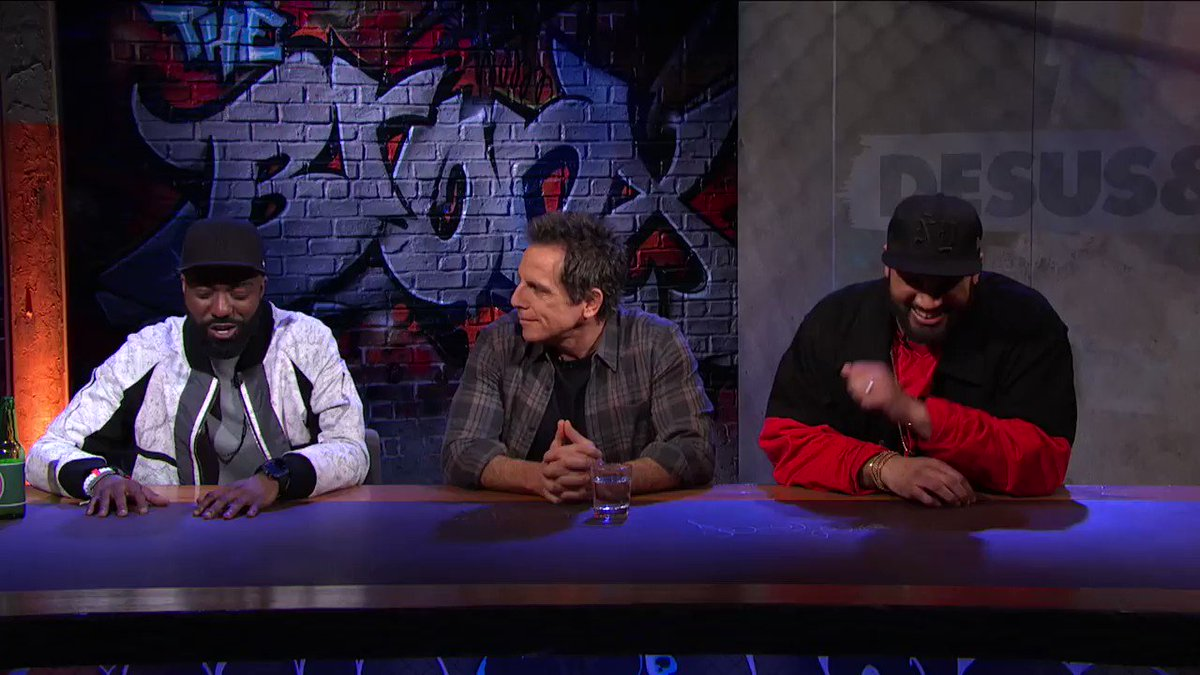 """.@RedHourBen tells us about his short-lived run on """"The Ben Stiller Show"""" in this deleted scene from Thursday's #DESUSandMERO  Catch up on the series, here: http://s.sho.com/DesusandMero"""