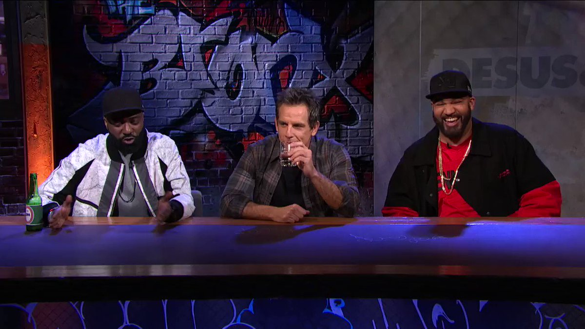 The guys get advice from (and possibly offend) @RedHourBen in this deleted scene from Thursday's episode.  Catch up on #DESUSandMERO: http://s.sho.com/DesusandMero