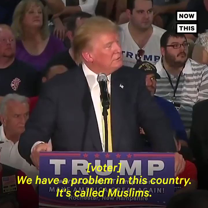 Listen to what Trump said about Muslims in the U.S. back in 2015