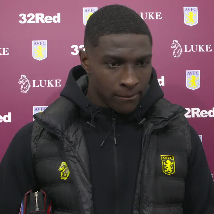 Another win ✅ Another clean sheet ✅  @Kortney_30 speaks to Club TV after we move into the top six.  #PartOfThePride #AVFC