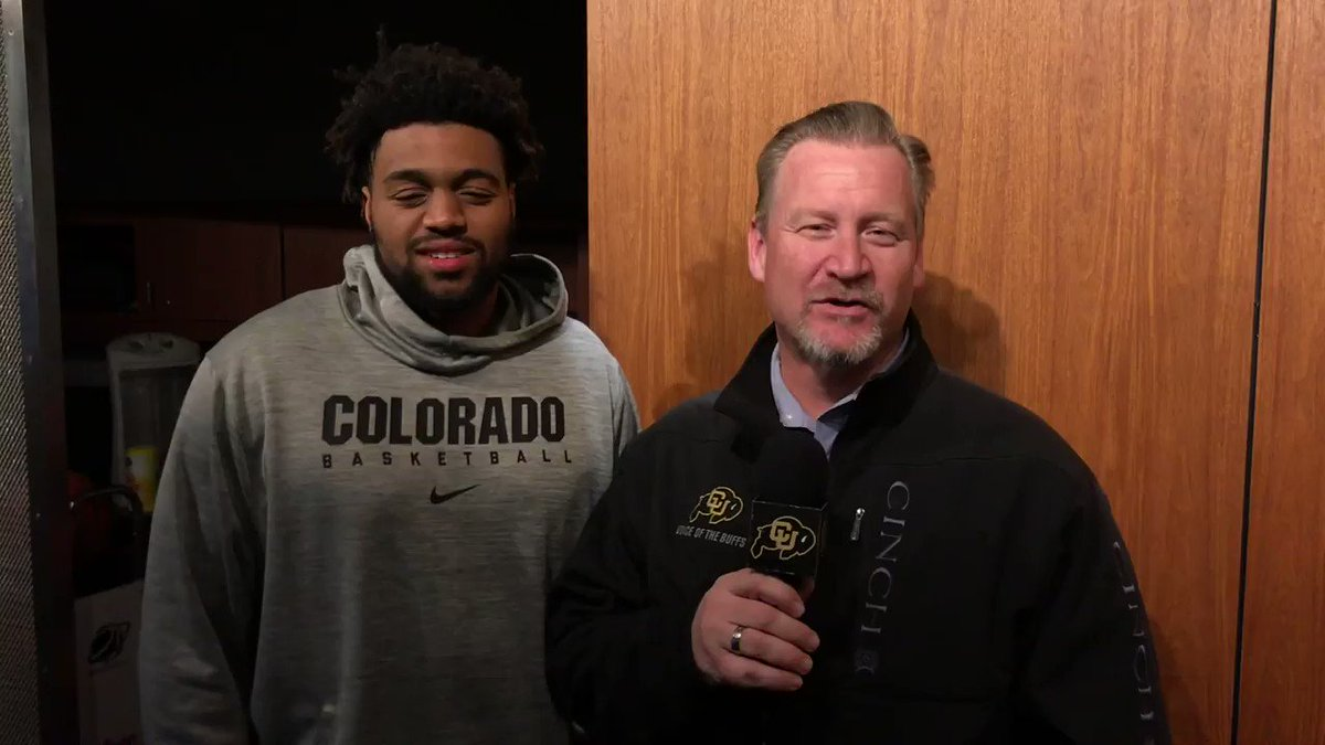 """Our whole team and coaches definitely wanted to keep playing. We've got a sense of love and care for one another that makes it so special,"" Evan Battey with @MJBuffsVoice"