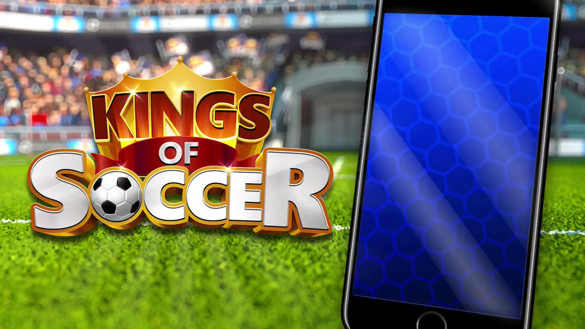Sei in grado di diventare il King of Soccer? Disponibile ora su IOS e Android http://onelink.to/v5uyt6