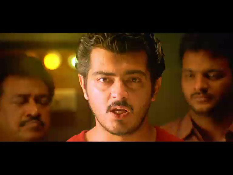 Justice will get a new face tonight at 7 pm. #Citizen #AjithKumar #Meena