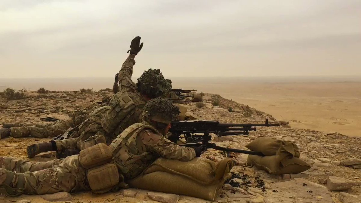 On exercise in Egypt, 2 Royal Anglian, aka The Poachers, are sharing their tactical skills alongside units from the Egyptian Army.