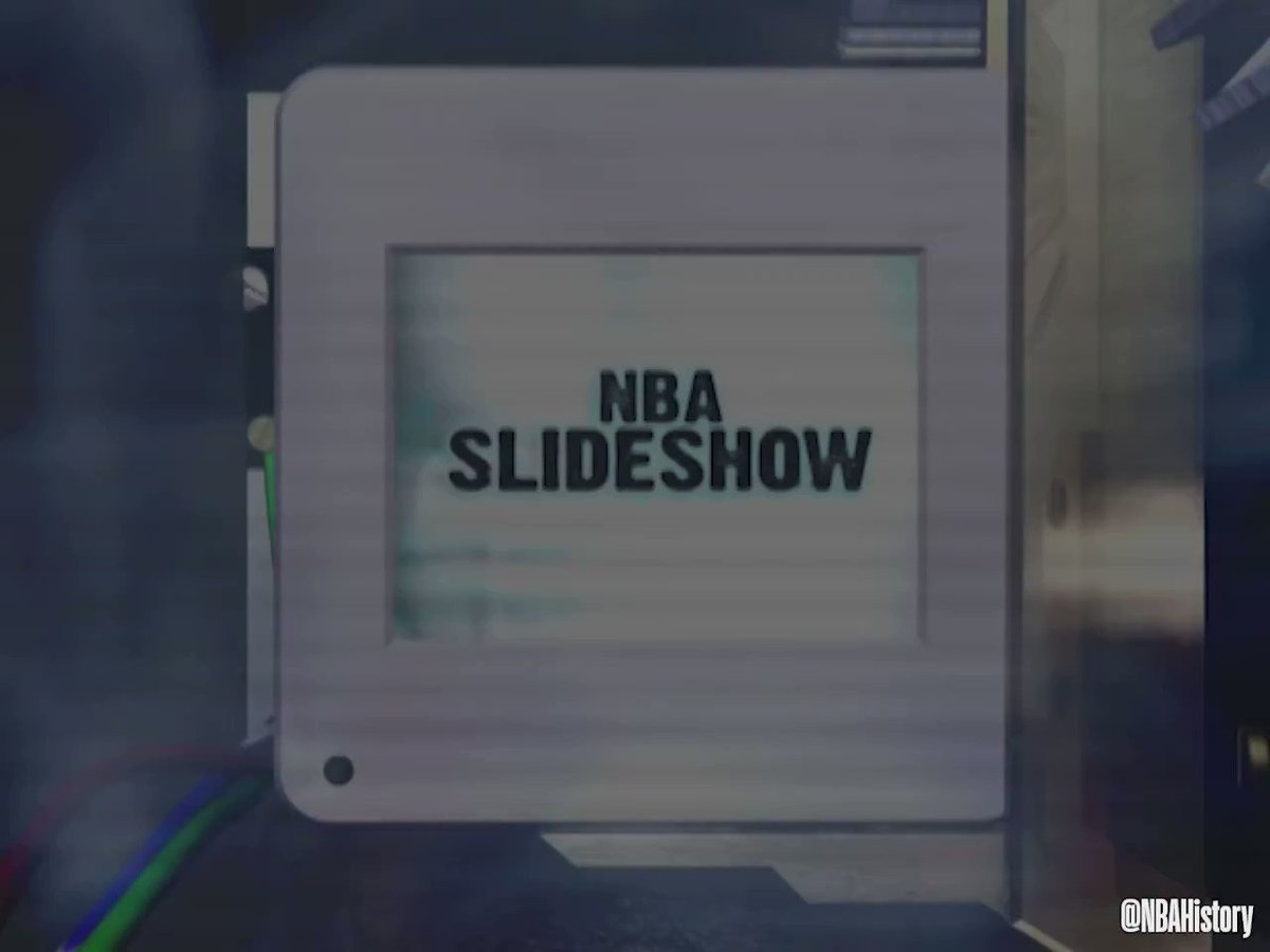 """""""Really one of the greatest days of my life... it was a dream come true.""""  Sit down with @swish41 to go through his #NBA career slideshow! #NBAVault 📸🏀"""