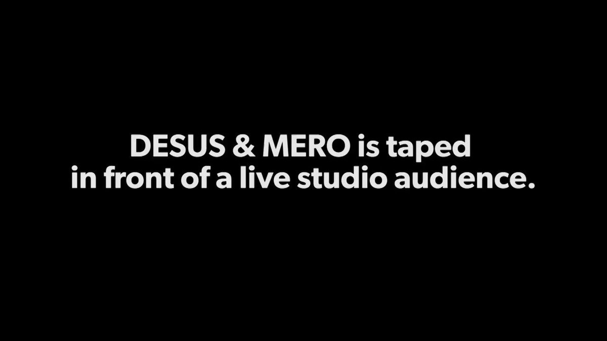"""""""We couldn't do this without y'all.""""  A new #DESUSandMERO Thursday 11/10c, only on @Showtime."""