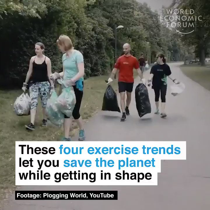 Strawkling. Plogging. Trashtag movement. Green gym. Here are four exercise trends which also help you save the planet. Enjoy! And make a difference!