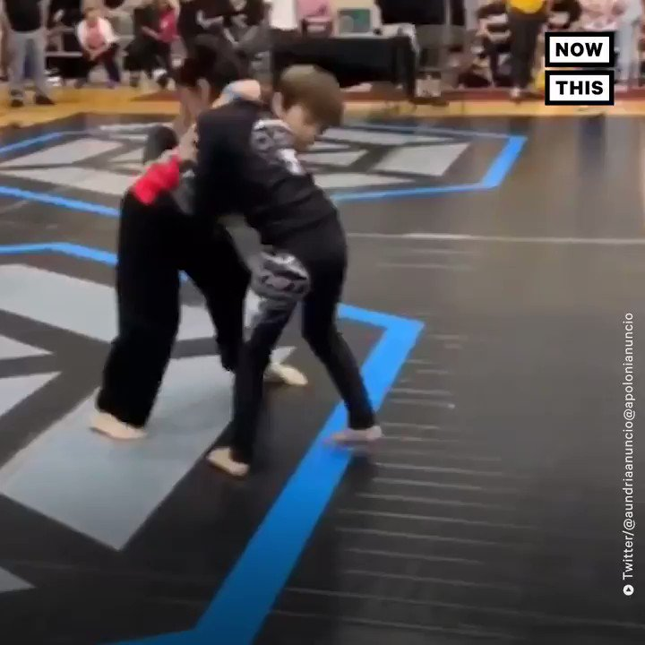 This 9-year-old girl is kicking butt and taking names in the jiu-jitsu world