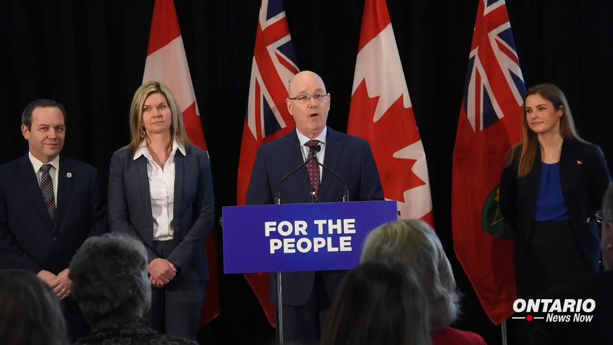 Image for the Tweet beginning: Ontario's government is working for