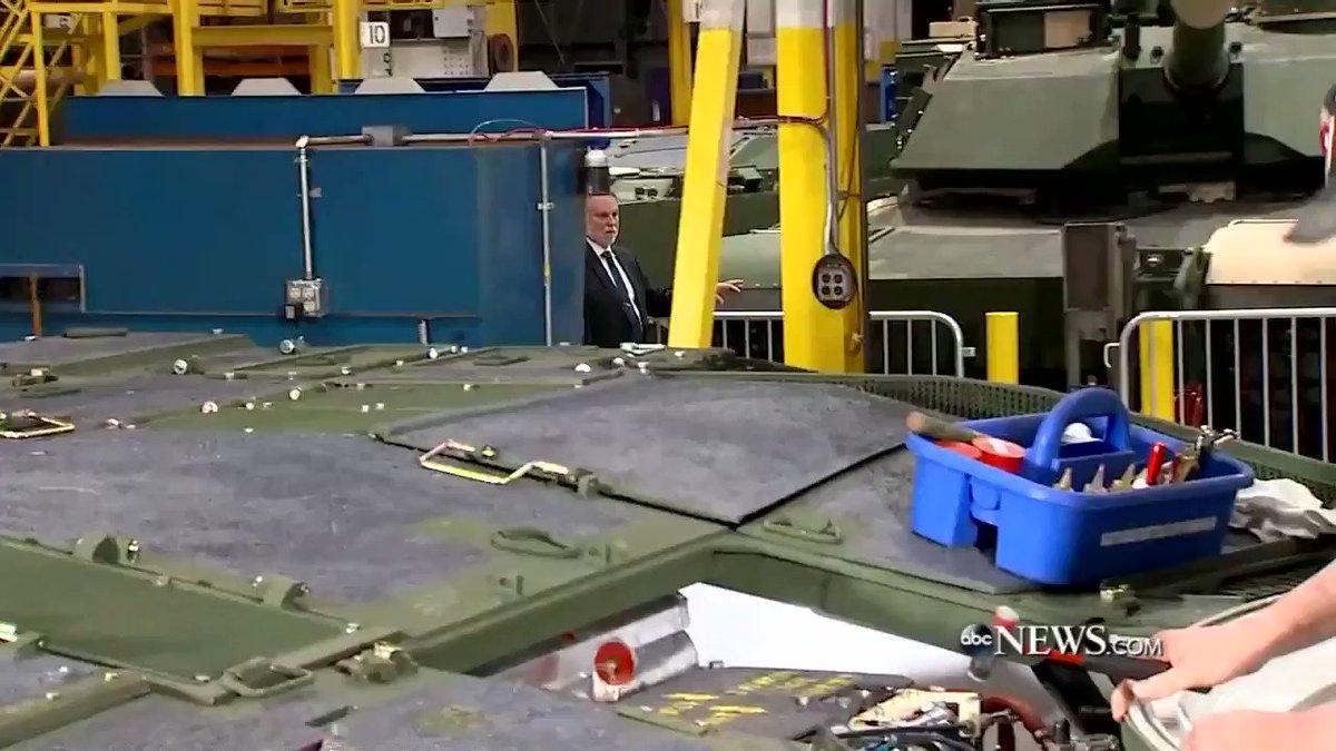 love President Trump Lima Army Tank Plant Trump toured