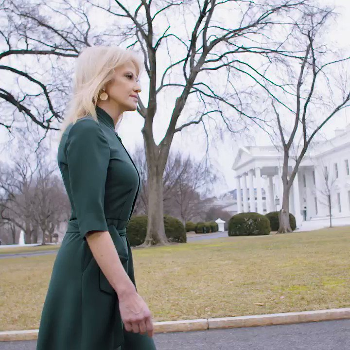 Kellyanne Conway's humble New Jersey roots laid the foundation for a long career in a male-dominated world of politics. Now, she's the one consistent figure in the otherwise revolving door of the Trump White House. #BadassWomenDC | @DanaBashCNN https://cnn.it/2U3WXuA