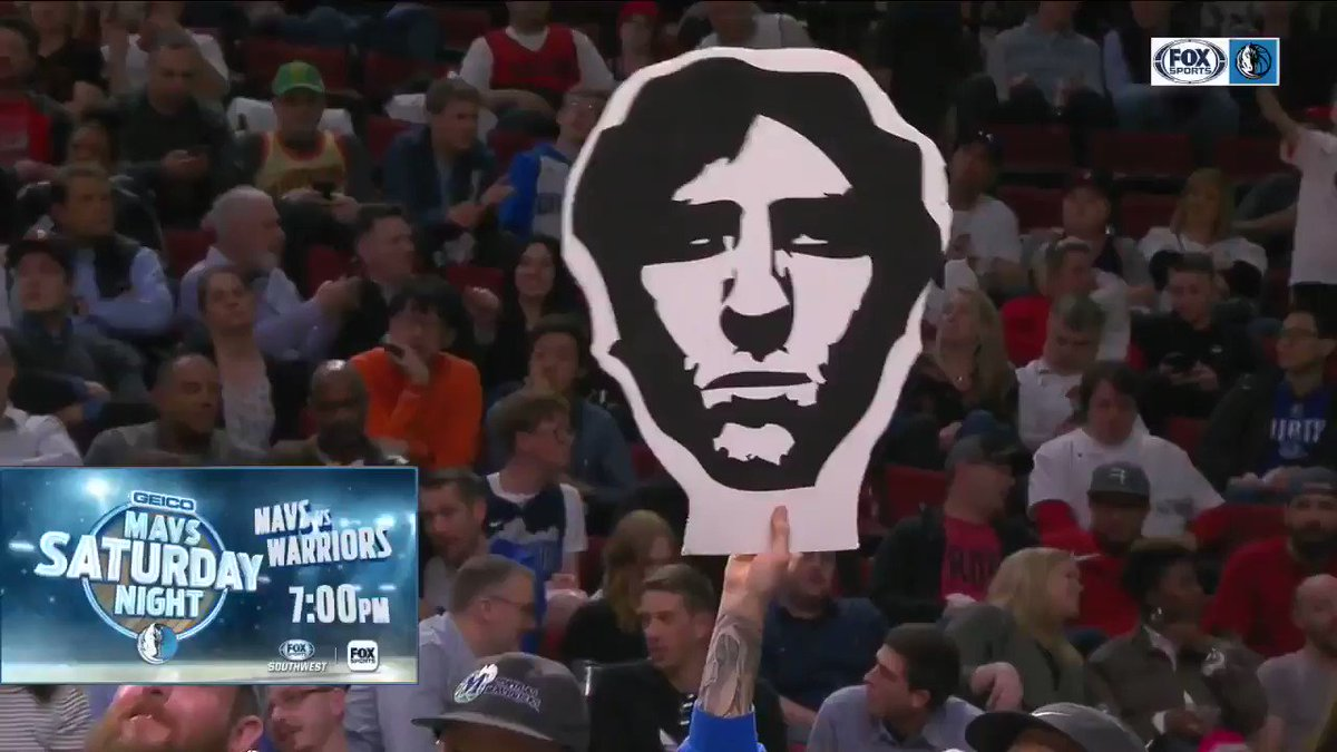 The Portland crowd gets their wish as Dirk gets his curtain call!  #MFFL