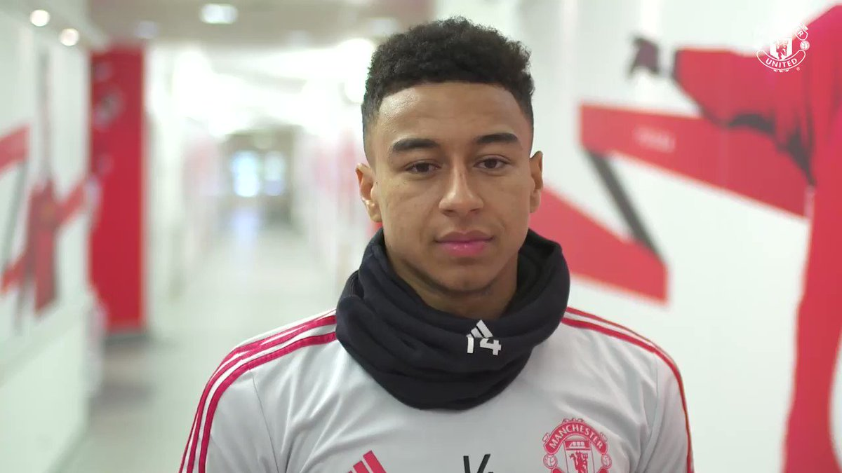 """""""Inspiring others is what I want to do.""""   @JesseLingard ❤️ #MUFC"""